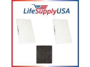 2 Complete Sets for Honeywell HRF-ARVP True HEPA Filter HPA090, HPA100, HPA200, HPA300