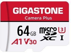 [Gigastone] 64GB Micro SD Card, Camera Plus, MicroSDXC Memory Card for Wyze Cam, Video Camera, Security Camera, Smartphone, Fire tablet, 4K Video Recording, UHS-I U3 A1 V30, 95MB/s, with Adapter