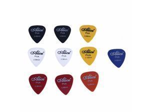 Alice 10x Plectrum Guitar Accessories Guitar Pick 0.58mm