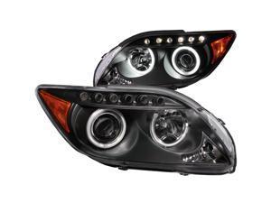 Anzo USA 121119 Scion tC Projector with Halo Black Headlight Assembly