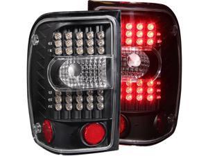 Anzo USA 311107 Ford Ranger Black G2 LED Tail Light Assembly