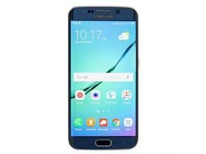 Samsung Galaxy S6 Edge SM-G925V 32GB Sapphire Black Verizon - Excellent