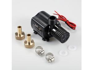 DECDEAL Brushless Water Pump Ultra-quiet DC12V Micro Brushless Water Pump Waterproof Submersible Pump for