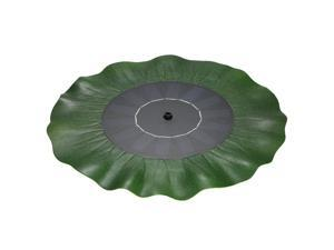 Solar-power Lotus Leaf Fountain Floating Brushless Decoration Pump Kit with Monocrystalline Solar Panel for