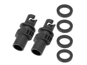 Inflatable Boat Kayak Air Valve Adapter Inflation Air Pump Hose Screw Valve Connector