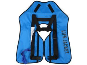 Inflatable Life Jacket Adult Life Vest Water Sports Swimming Fishing Survival Jacket