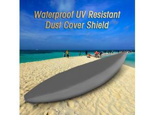 Professional Universal Kayak Cover Canoe Boat Waterproof UV Resistant Dust Storage Cover Shield