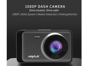 1080p FHD Car DVR Camera 3 inch LCD Night Vision Dash Cam LDWS ADAS SOS G-sensor License Number Recognition