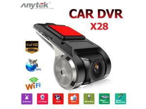 X28 Full HD 1080P WiFi Car DVR Camera G-Sensor ADAS Video Auto Recorder Dash Camera