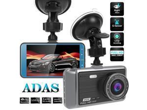 A60 4 INCH IPS SCREEN CAR DVR CAMERA HD 1080P DASHCAM LDWS STARLIGHT NIGHT VISION VIDEO RECORDER