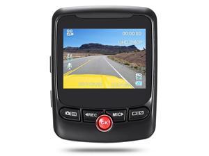 Hidden Dash Cam 2160P UHD resolution / 24fps with 170 Degree Wide Angle Lens 2.31 inch LCD Screen