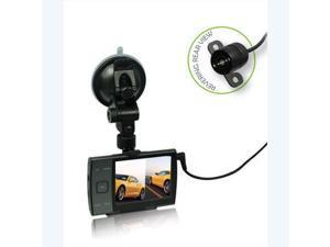 Car DVR HD720P 3.5 Inch Dash Cam Night Vision G-sensor Camera With Reversing Rear View Loop-cycle Recording