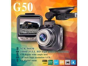 Car DVR Dashcam 1080P Full HD HDMI Output Video Recorder 16.0MP Resolution 170 Degree Wide Angle Lens G-Sensor WDR