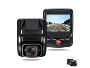 Auto Hidden Dash Cam 1080P Dual Camera T690C 170 Degree Super Wide Angle Lens with 2.31 Inch High Resolution LCD Screen