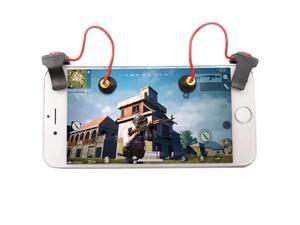 Game Controller Smart Phone Mobile Gaming Trigger and Gamepad Handle Grip Joystick 2pcs for Fortnite/PUBG
