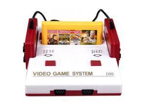 Retro Game Console D99 Family PAL Format TV Video Games 8 Bit Handheld