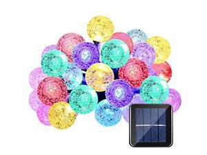 30LED Solar Waterproof RGB Outdoor String Lights for Outdoor Patio Lights