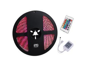 Strip Light RGB 5M 5050SMD Waterproof 24Key Remote Control Flexible LED Light Strips