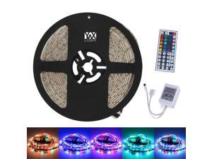 Strip Lights 5M 300LED 3528SMD Waterproof 44Key Remote Control Flexible LED Light Strips ( DC 12V)
