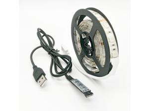 Strip Light RGB 100CM 5V Waterproof 1m USB LED Light Strip 15W 5050RGB 60 LEDs ( DC5V )