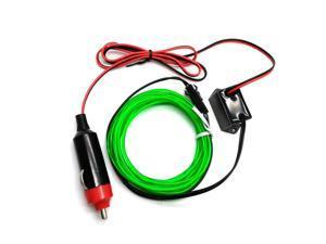 Neon Car Light 5M Flexible EL Wire 12V Rope Tube Waterproof LED Strip