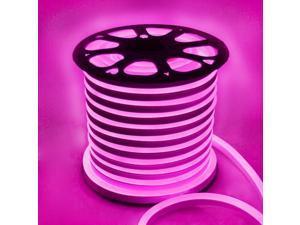 5M LED Strip Flexible Neon Lights Waterproof LED Purple Light Lamp AC 220 - 240V US Plug