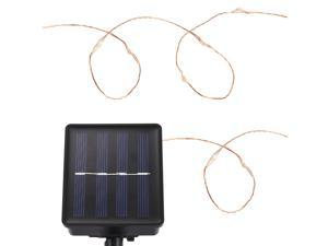 20M Solar Powered Waterproof 200 LEDs Copper String Light