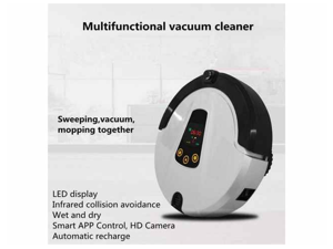 Reservation Vacuum cleaner Household Mopping Robot WIFI remote control Anti-drop