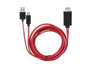 MHL Micro USB to HDMI Cable with 11 pin for Samsung Galaxy S1-4 Note1-4