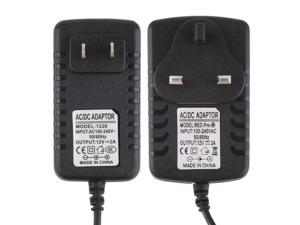 DC 12V 2A AC Power Supply Transformer Adapter Converter Wall Charge Adapter