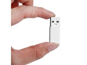 Portable USB 3.0 To USB 3.1 Type-C Adapter Converter Male To Female Converter white