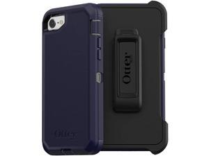 OtterBox DEFENDER SERIES Case for iPhone 8 & iPhone 7 (NOT Plus) - STORMY PEAKS (AGAVE GREEN/MARITIME BLUE)