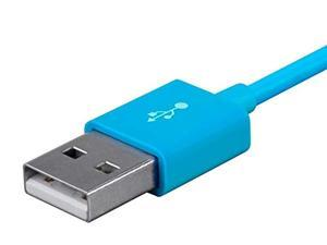 Monoprice Select Series USB A to Micro B Charge & Sync Cable, 10' Blue