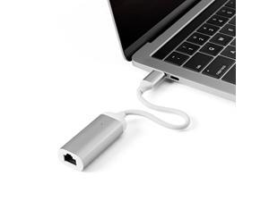 MINIX NEO C-E, Advanced High-Speed USB-C to Gigabit Ethernet Adapter - Silver [Universal Compatibility – Windows, Mac and Chrome OS]. Sold Directly by MINIX® Technology Limited.