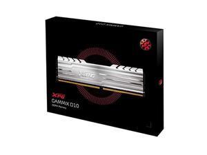 XPG Gammix D10 3000MHz (PC4 24000) 16GB (2x8GB) DDR4 Memory Module Kit Silver (AD4U300038G16-DS10)