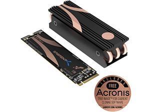 Sabrent 1TB Rocket Nvme PCIe 4.0 M.2 2280 Internal SSD Maximum Performance Solid State Drive with Heatsink (SB-ROCKET-NVMe4-HTSK-1TB)