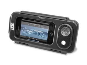 Jovial Surf Sound Play Universal Waterproof iPod, iPhone4 & iPhone5 MP3 Player & Smartphone Portable Speaker & Case (Color Black)