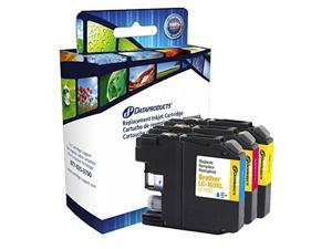 Dataproducts DPCLC103CMY High Yield Inkjet Cartridges for Brother LC-103XL Multi-Pack, Cyan/Magenta/Yellow