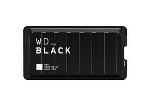 WD_Black 1TB P50 Game Drive Portable External SSD, Compatible with PS4, Xbox One, PC, & Mac - WDBA3S0010BBK-Wesn