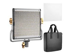 Neewer Dimmable Bi-Color LED with U Bracket Professional Video Light for Studio, YouTube Outdoor Video Photography Lighting Kit, Durable Metal Frame, 480 LED Beads, 3K, CRI 96+