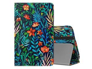 MoKo Case Fit Samsung Galaxy Tab A with S Pen 8.0 2019, Premium Slim Folding Stand Cover Case for Galaxy Tab A with S Pen 8.0 SM-P200 (Wi-Fi)/SM-P205 (LTE) 2019 Tablet - Jungle Night