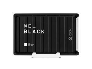 12TB WD_Black D10 Game Drive Xbox, Desktop External Hard Drive (7200 RPM) with 3-Month Xbox Game Pass - WDBA5E0120HBK-NESN