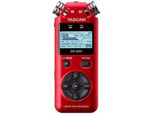Tascam DR-05X Stereo Handheld Digital-Audio Recorder and USB Audio Interface, Red