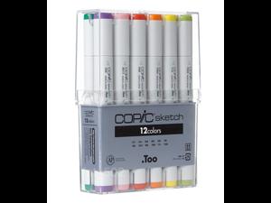 Copic Marker SB12 12-Piece Sketch Basic Set