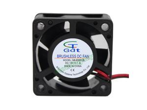 12V 4cm 40x40x20mm 4020S 2Pin Brushless Cooler Cooling Fan 40mm