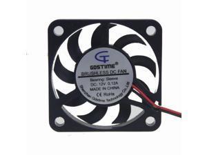 2pcs 12V 40x40x7mm Brushless Cooling Cooler Fan mini 4cm 40mm 4007S 2pin