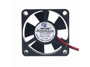 2pcs Ball Bearing 35mm 35X35x10mm 12V Brushless Cooling Fan 2pin