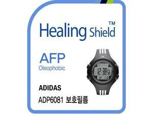 Healingshield Screen Protector Oleophobic AFP Clear Film for Adidas Watch ADP6081 [Front 2pcs]