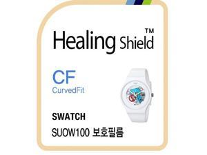 Healingshield Screen Protector CV for Swatch Watch SUOW100 [Front 3pcs]
