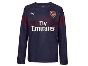 1ee5317b0127 2018-2019 Arsenal Puma Away Long Sleeve Shirt (Kids)